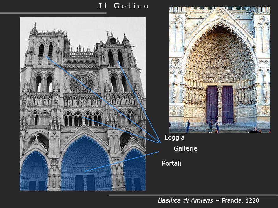 Deambulatorio Basilica di Saint Denis – Parigi, 1140 -1144 I l G o t i c o