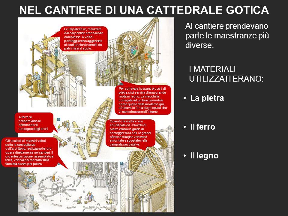 LARCHITETTO MAGISTER In epoca romanica la realizzazione di una cattedrale era il risultato del lavoro di maestranze organizzate, talvolta, sono propri