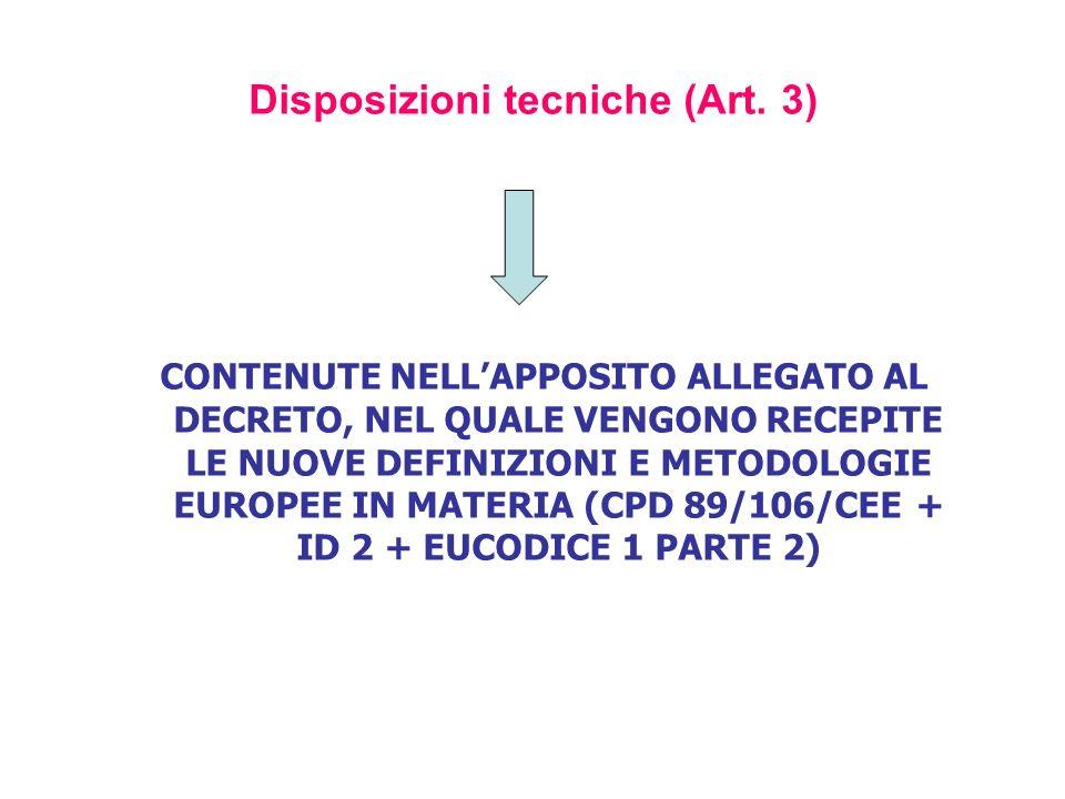 Abrogazioni e disposizioni finali (dalla data di entrata in vigore, art.