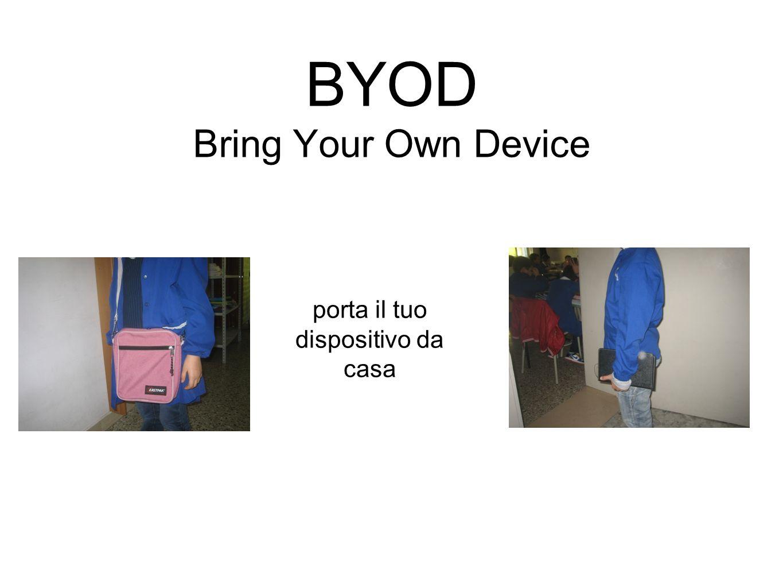 BYOD Bring Your Own Device porta il tuo dispositivo da casa