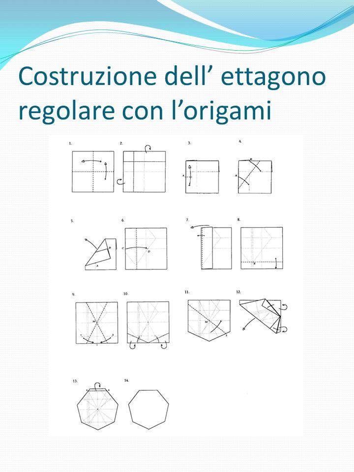 Costruzione dell ettagono regolare con lorigami