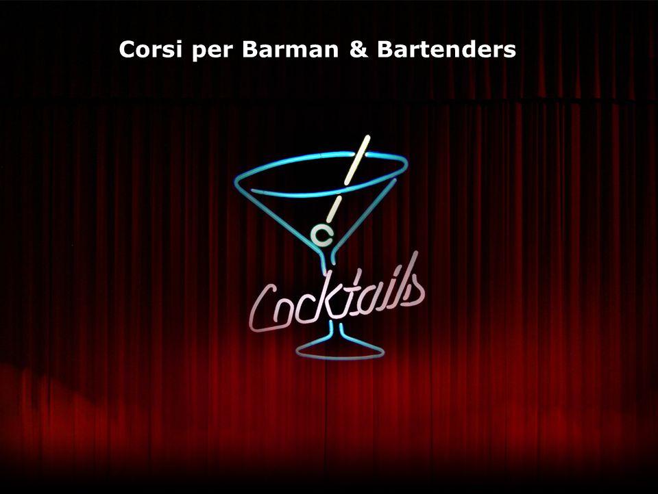 Il Bartender si caratterizza non solo per le sue doti professionali, ma per la personale impronta nellesecuzione del lavoro.
