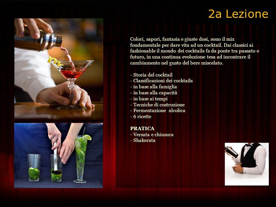 Colori, sapori, fantasia e giuste dosi, sono il mix fondamentale per dare vita ad un cocktail.