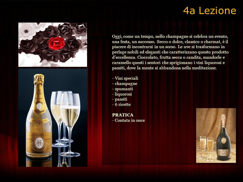 Oggi, come un tempo, nello champagne si celebra un evento, una festa, un successo.