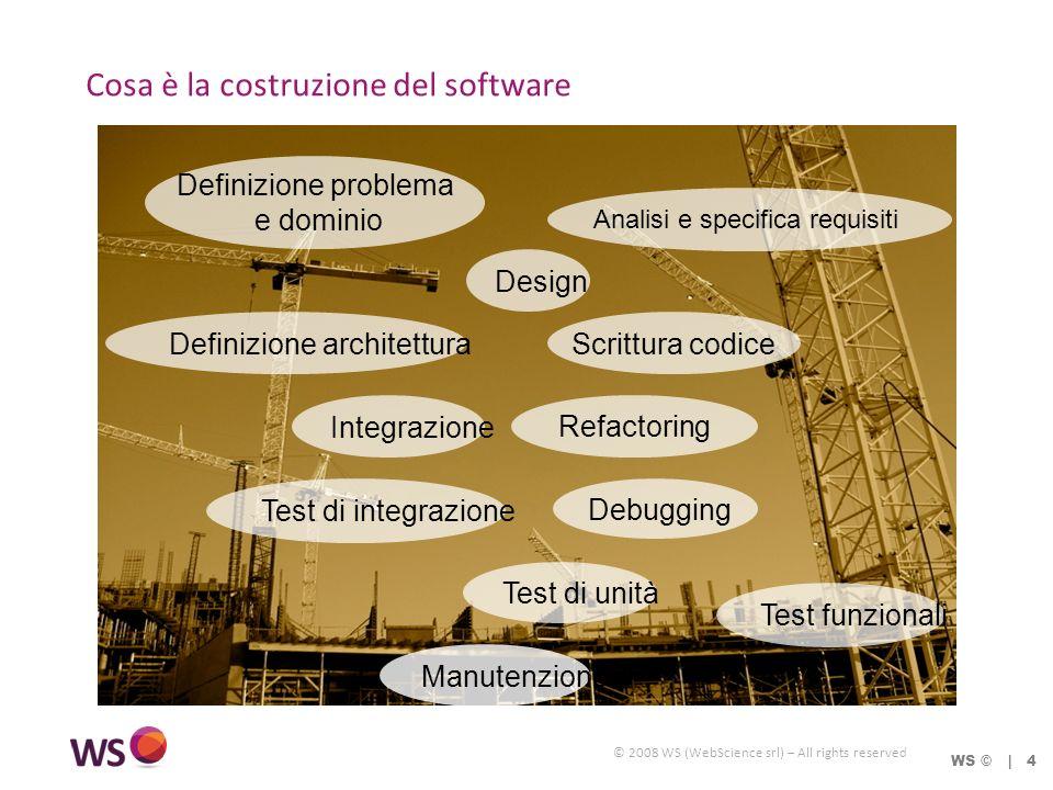 © 2008 WS (WebScience srl) – All rights reserved Ottimizzare con giudizio WS © | 55