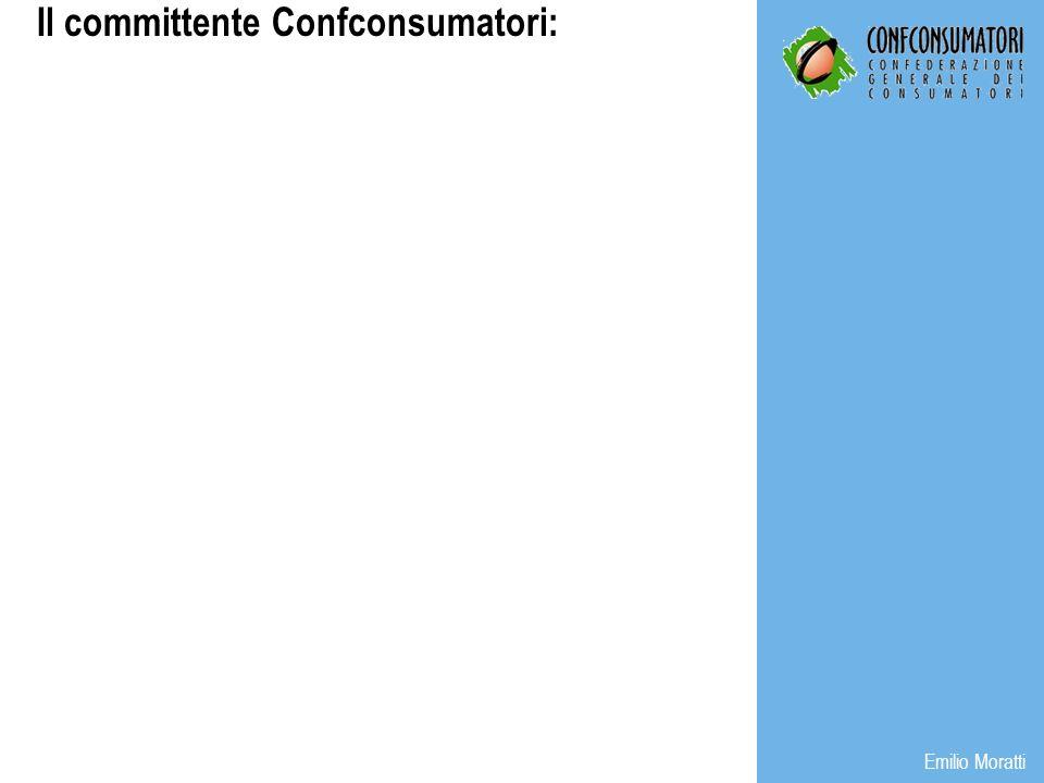 Il committente Confconsumatori: