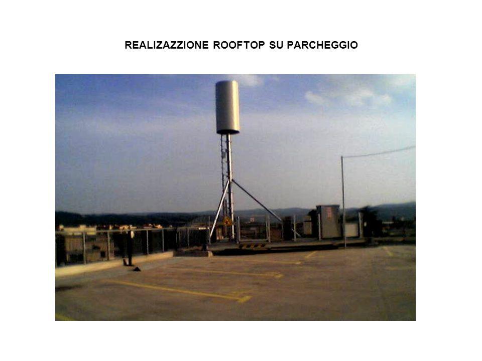 REALIZAZZIONE ROOFTOP SU PARCHEGGIO