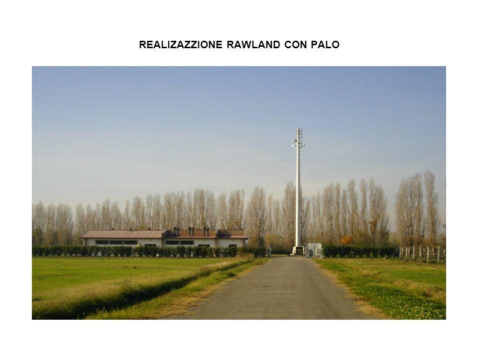 REALIZAZZIONE RAWLAND CON PALO