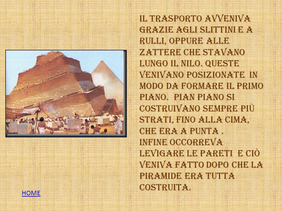 Papiro realizzato in classe dagli alunni della IV A HOME
