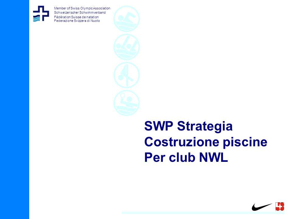Member of Swiss Olympic Association Schweizerischer Schwimmverband Fédération Suisse de natation Federazione Svizzera di Nuoto SWP Strategia Costruzione piscine Per club NWL