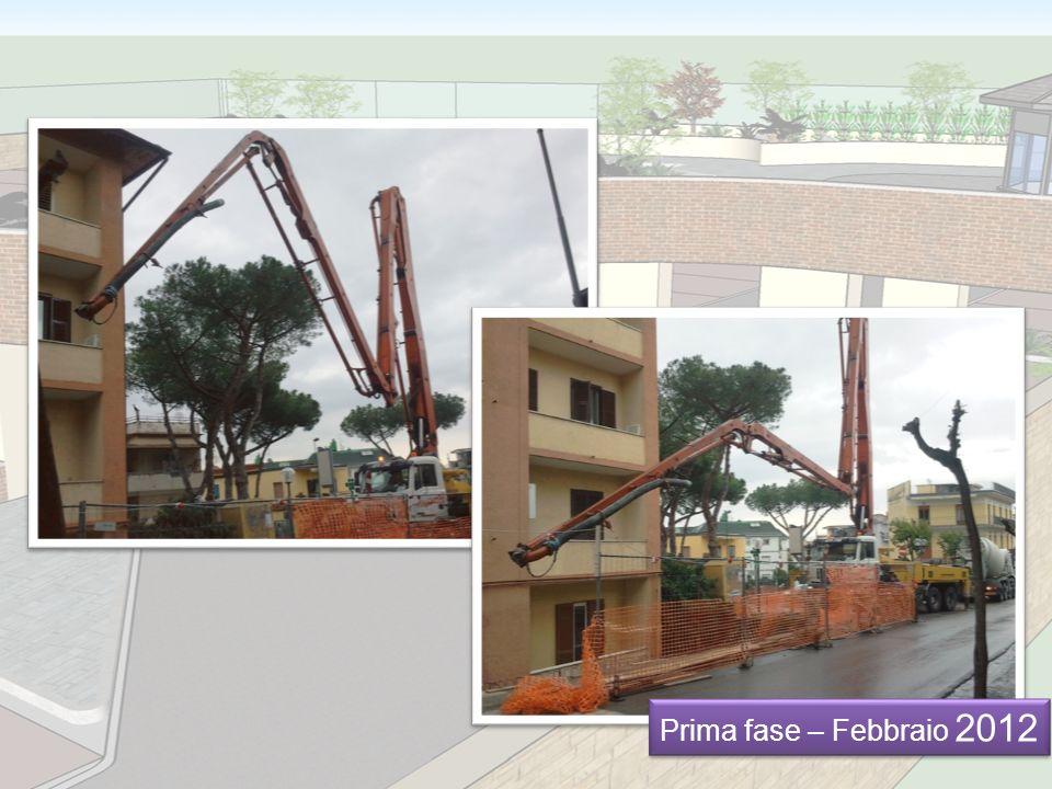 Prima fase – Febbraio 2012