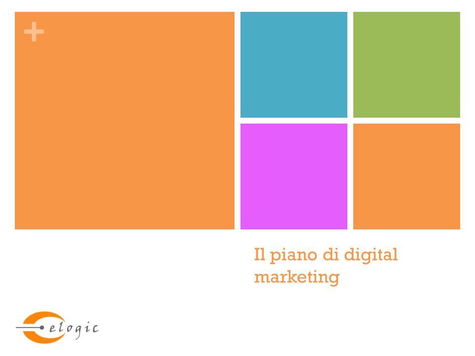 + #Piano digital marketing :: Costruzione :: Strumenti Sito web Nello sviluppo di un sito web acquisiscono sempre più importanza alcuni fattori: Progettazione ed implementazione search engine friendly (attenzione nella scelta del sistema di gestione dei contenuti) Attenzione alla fruibilità dei contenuti del sito dai dispositivi mobili (responsive web design)
