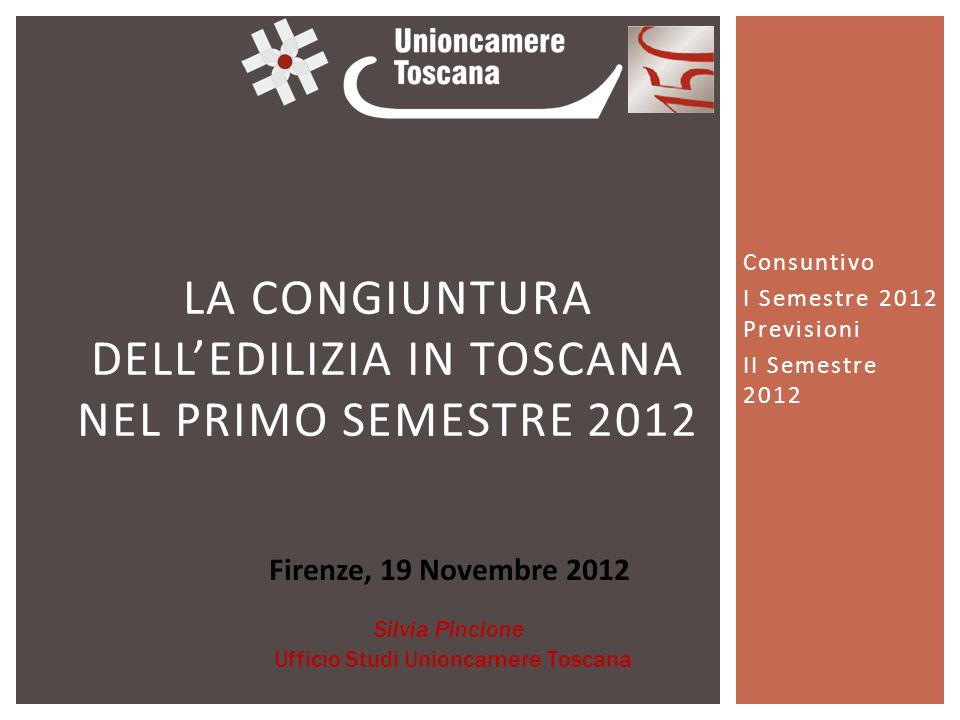 LINDAGINE: OBIETTIVO E CARATTERISTICHE (1) OBIETTIVO: Monitorare landamento congiunturale (I semestre2012) delle imprese toscane nel settore delle costruzioni UNIVERSO DI RIFERIMENTO: 635 imprese (sede in Toscana) 10-49 addetti (93,4%) – 50 addetti e oltre (6,6%) costruzione edifici (65,1%)– genio civile (26,4%) – demolizione e preparazione cantiere edile (8,4%) committente pubblico (50,9%) – committente privato (34,9%) – altro (14,2%)