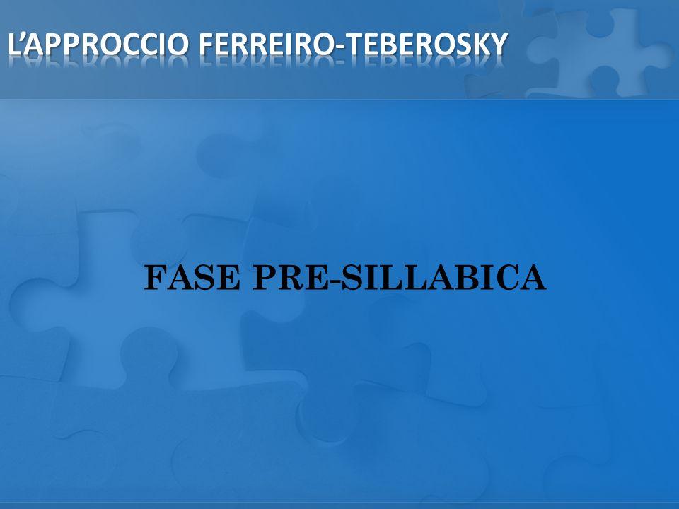 FASE PRE-SILLABICA
