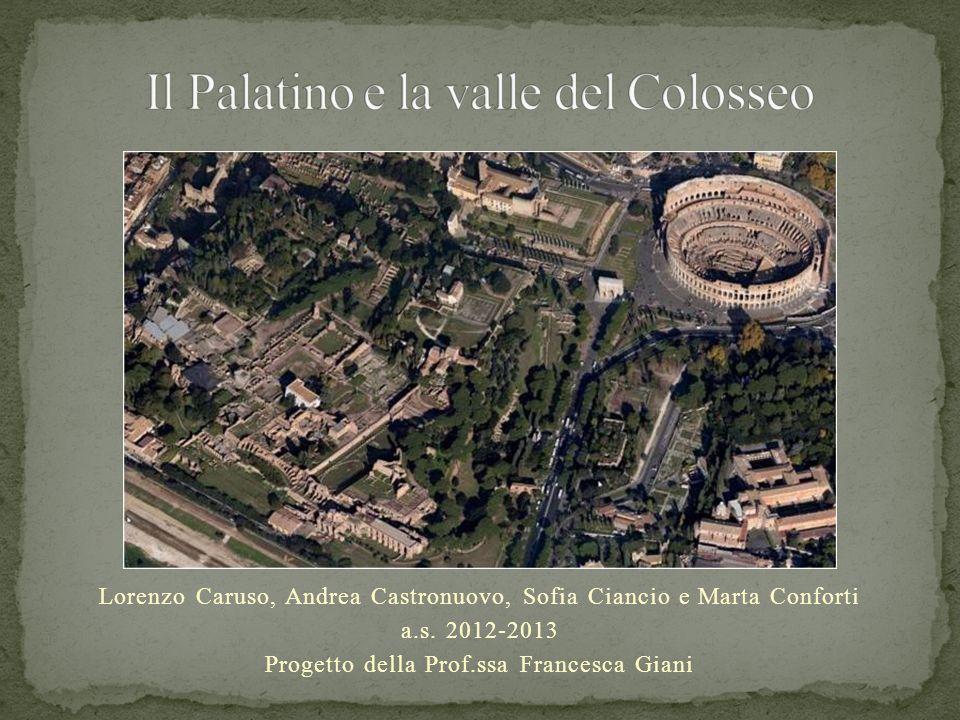 La Domus Flavia Era la parte pubblica e di rappresentanza del Palazzo imperiale dellimperatore Domiziano.