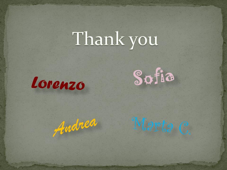 Lorenzo Andrea Sofia Marta C.