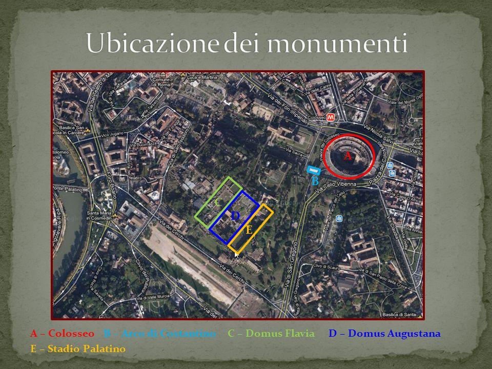 La Domus Augustana La Domus Augustana era la dimora privata dellimperatore.