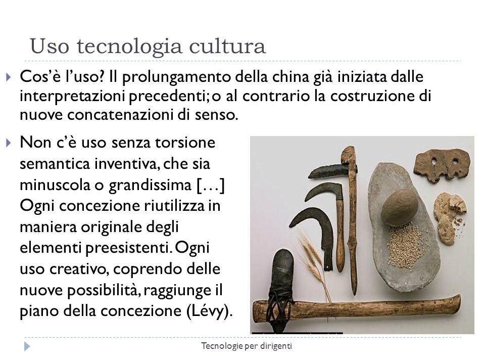 Uso tecnologia cultura Cosè luso.