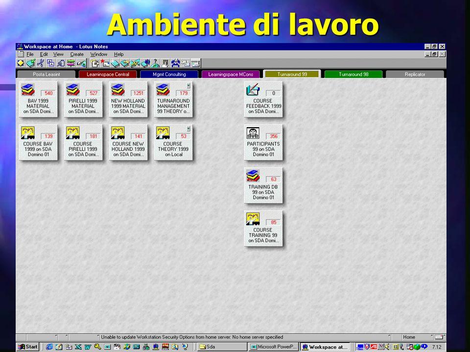 30 settembre 1999SDA BOCCONI - Ted11 Ambiente di lavoro