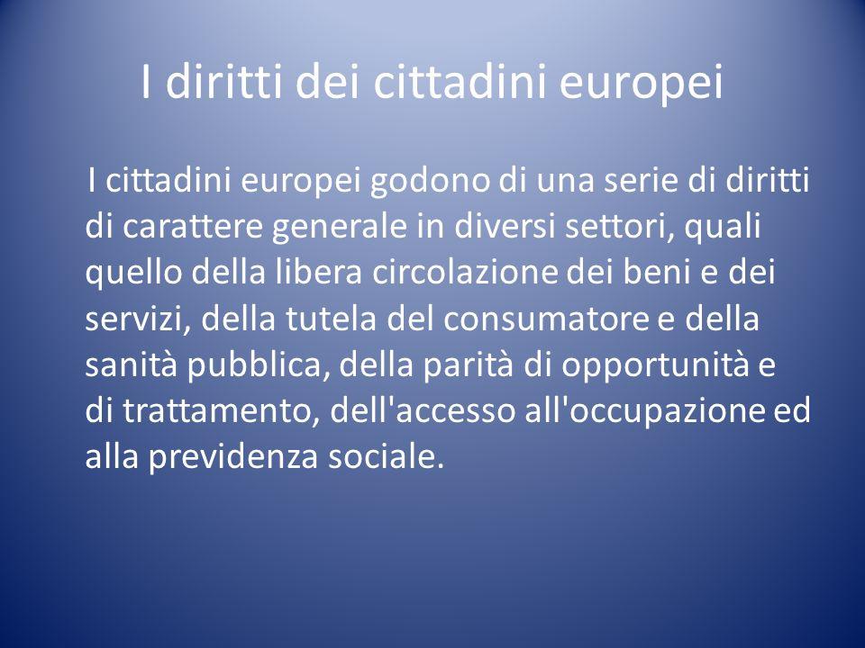 La costruzione della cittadinanza europea La costruzione dellidea di appartenenza e di cittadinanza europea ha seguito il percorso di integrazione europea.