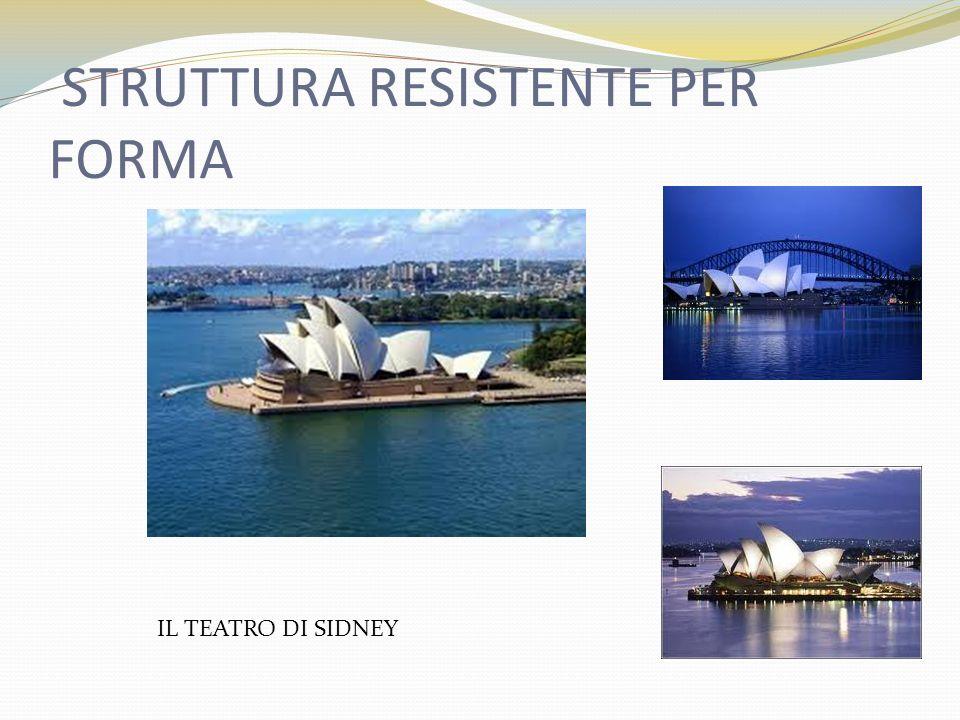 STRUTTURA RESISTENTE PER FORMA IL TEATRO DI SIDNEY