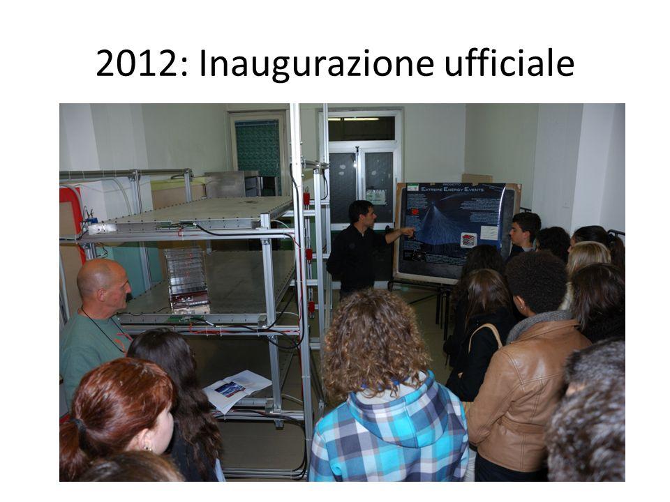 2012: Inaugurazione ufficiale