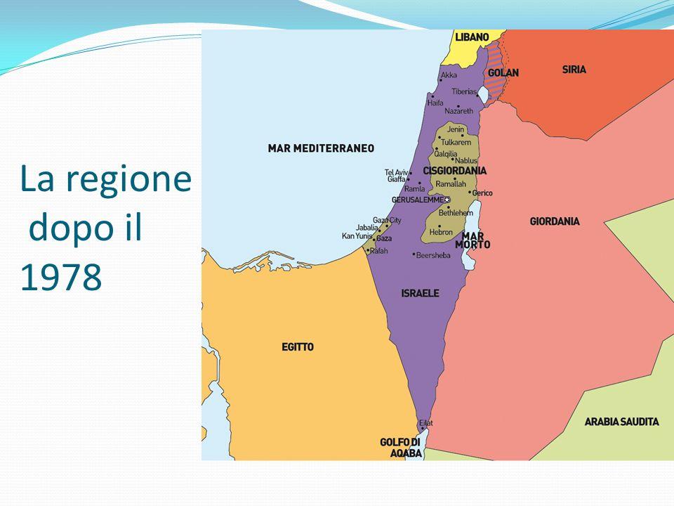 Mohammad Abdel Rauf Arafat al-Qudwa al Husseini Grande leader dei palestinesi fu Yasser Arafat o Abu Ammar (1929-2004) 1949: studente di ingegneria al Cairo, rappresentante degli studenti 1959: a Kuway city fonda al-Fatah (la vittoria) 1965: prende la decisione di passare alla lotta armata, decisione che si rafforza dopo la guerra dei Sei giorni 1969: viene eletto Presidente del Comitato esecutivo dellOLP 1974: ottiene il riconoscimento dellOLP dallONU 1993-4: firma gli accordi di Oslo, rientra in Palestina.
