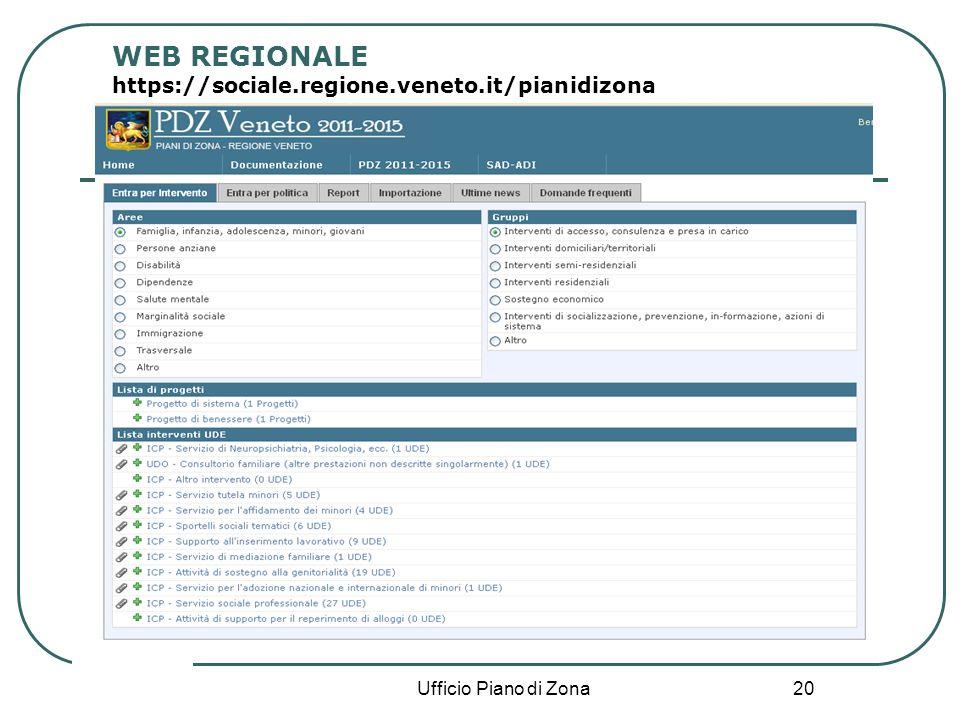 20 Ufficio Piano di Zona WEB REGIONALE https://sociale.regione.veneto.it/pianidizona