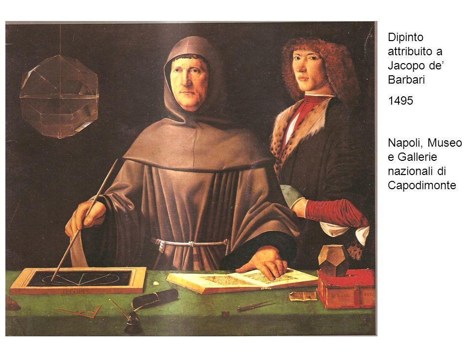 Dipinto attribuito a Jacopo de Barbari 1495 Napoli, Museo e Gallerie nazionali di Capodimonte