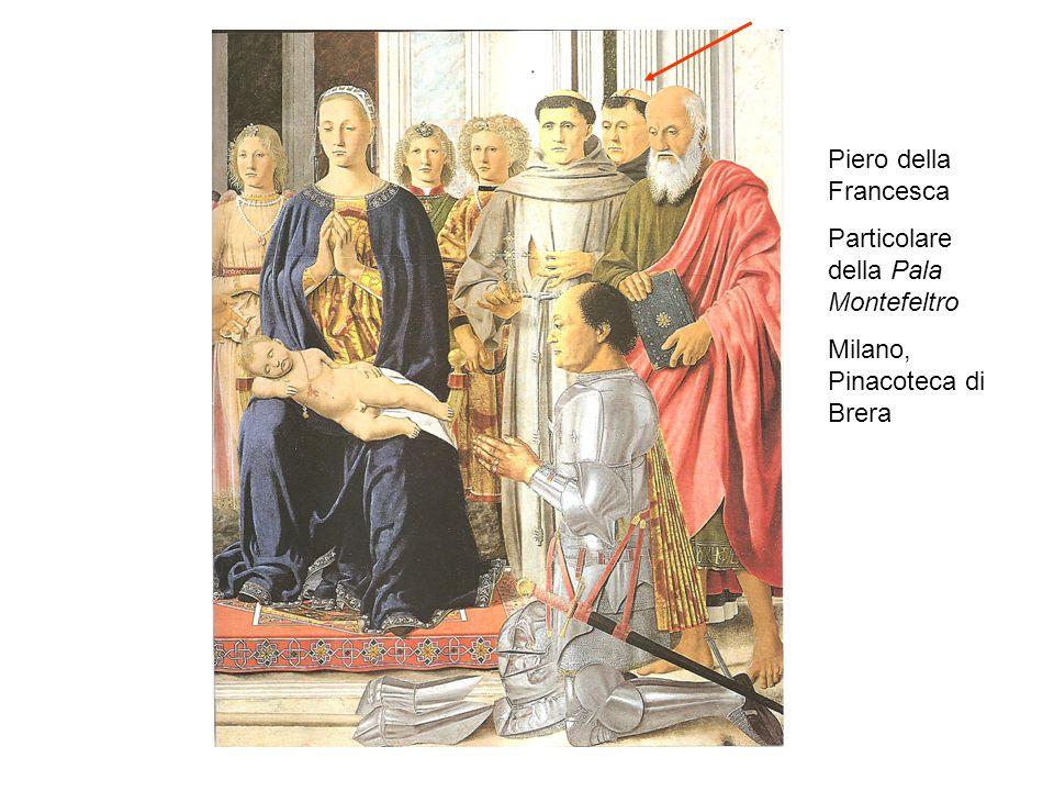 Piero della Francesca Particolare della Pala Montefeltro Milano, Pinacoteca di Brera