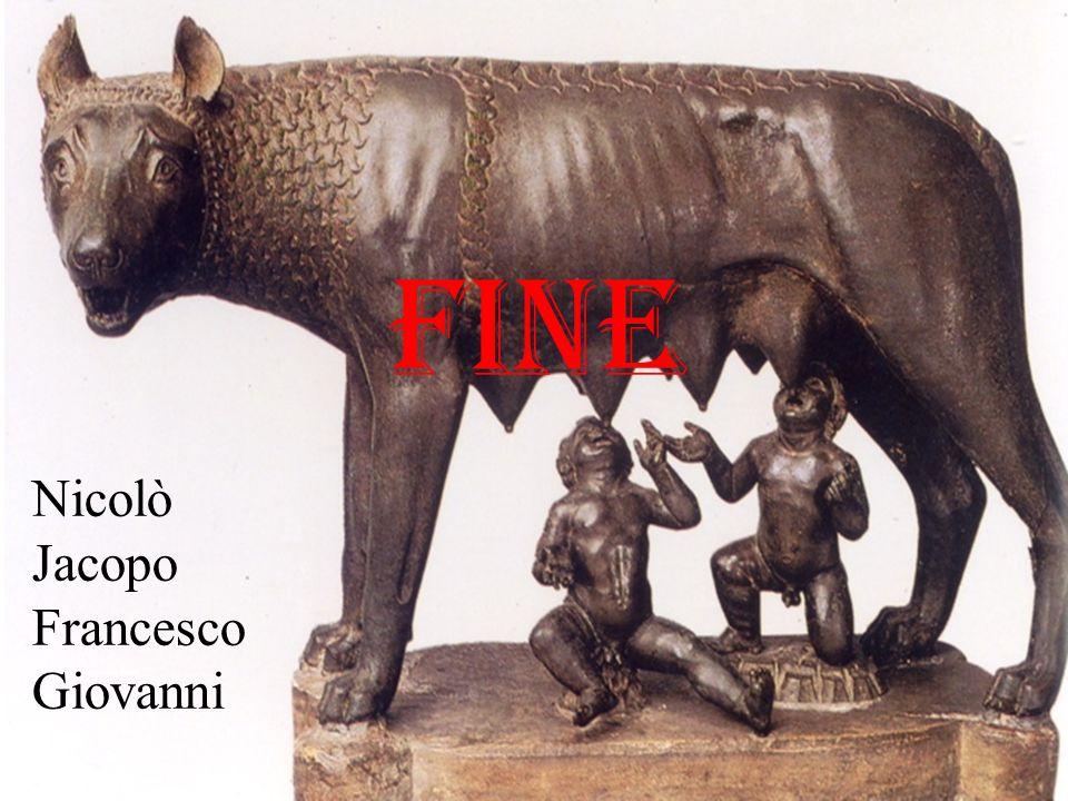 FINE Nicolò Jacopo Francesco Giovanni