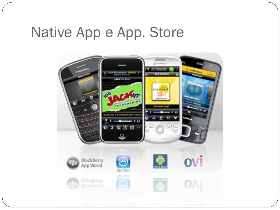 Native App e App. Store
