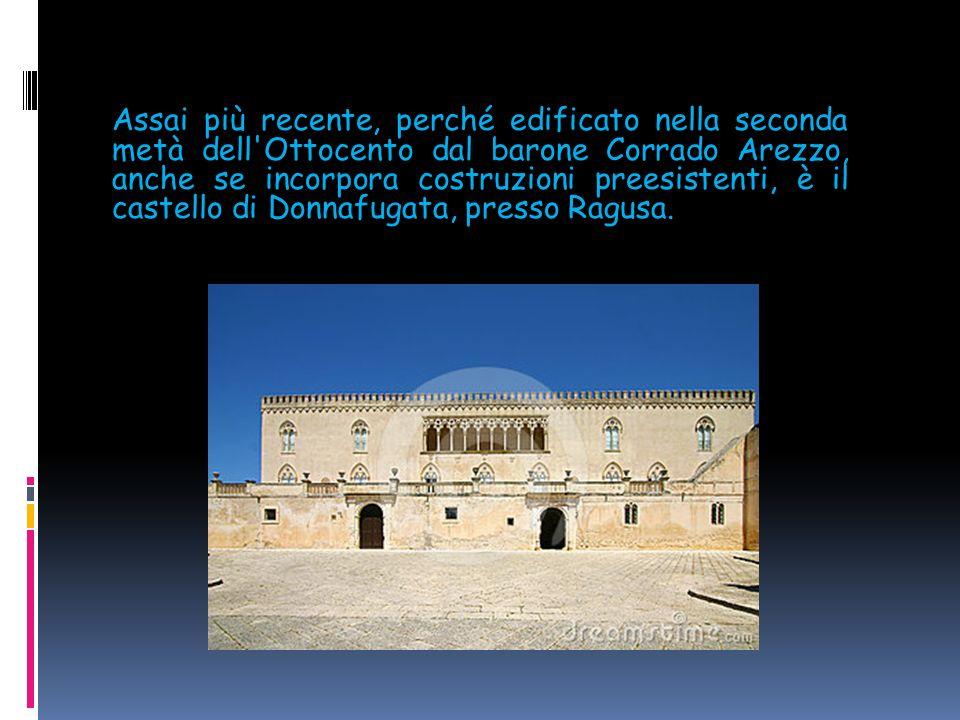 Altro capolavoro del grande imperatore svevo è il castello Maniace di Siracusa.