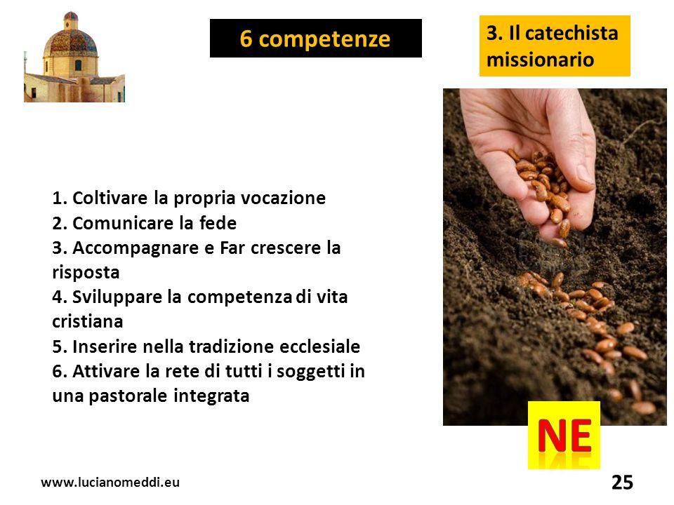 www.lucianomeddi.eu 25 3. Il catechista missionario 1.
