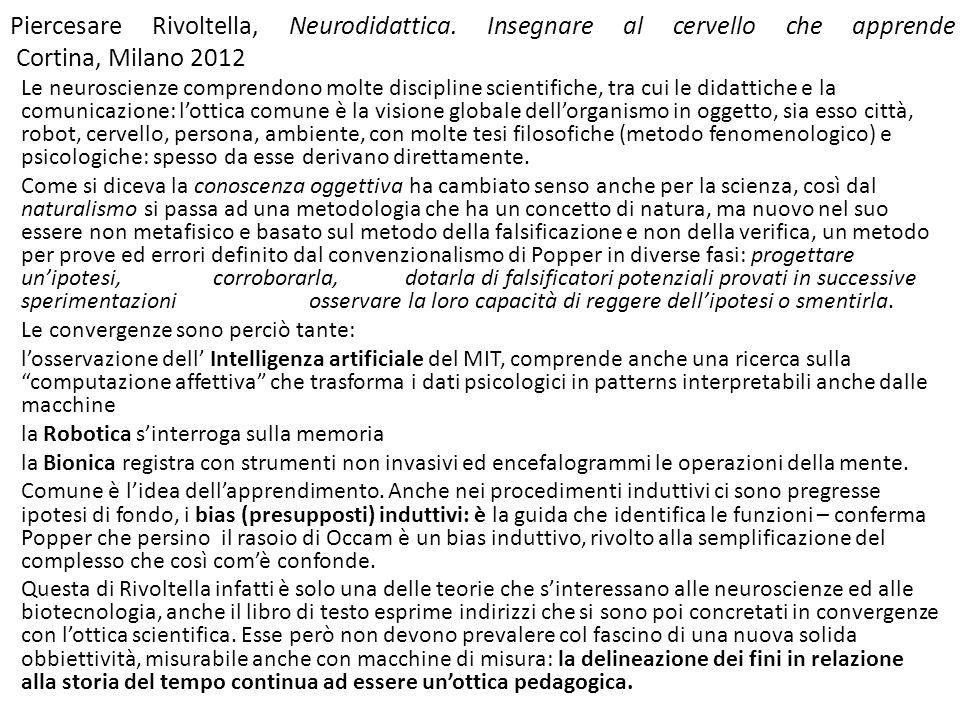 Piercesare Rivoltella, Neurodidattica.