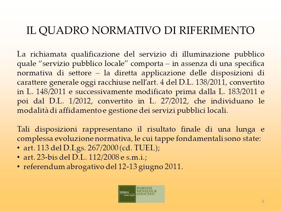 IL PERIODO TRANSITORIO Art.4, comma 32, D.L.
