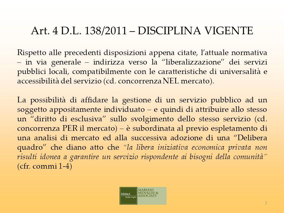 LE SOCIETA PUBBLICHE QUOTATE Art.4, comma 32, lett.