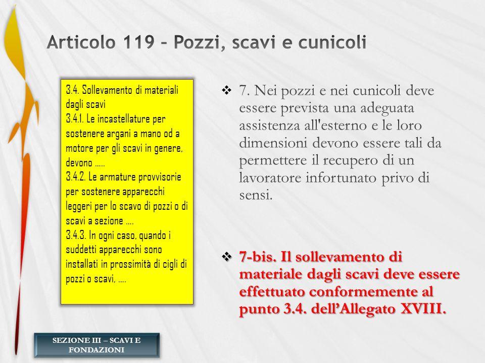 SEZIONE III – SCAVI E FONDAZIONI 3.4. Sollevamento di materiali dagli scavi 3.4.1. Le incastellature per sostenere argani a mano od a motore per gli s