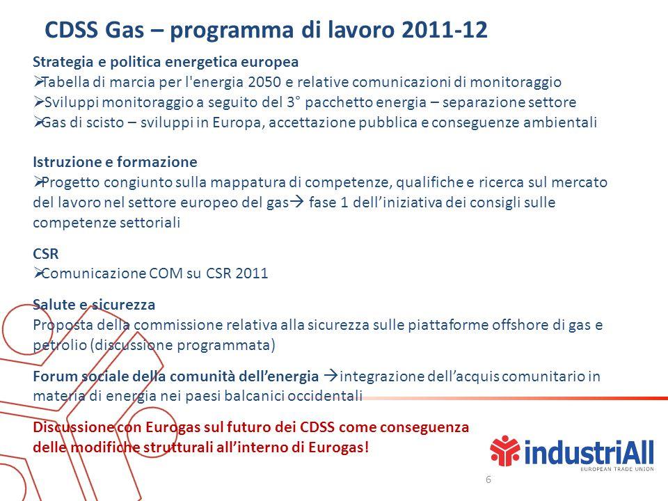 Strategia e politica energetica europea Tabella di marcia per l'energia 2050 e relative comunicazioni di monitoraggio Sviluppi monitoraggio a seguito
