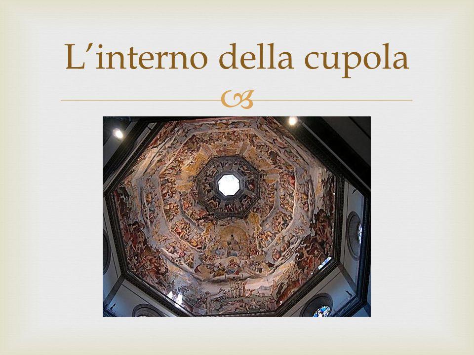 Linterno della cupola