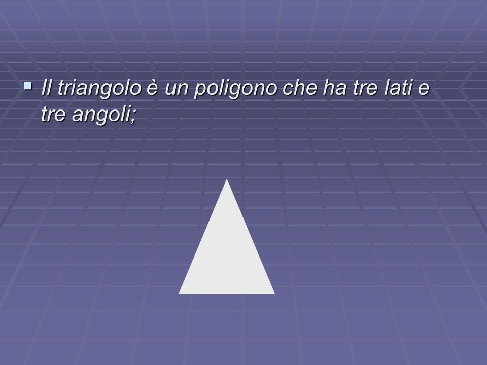 3° Criterio di congruenza Due triangoli sono congruenti se hanno congruenti i tre lati.