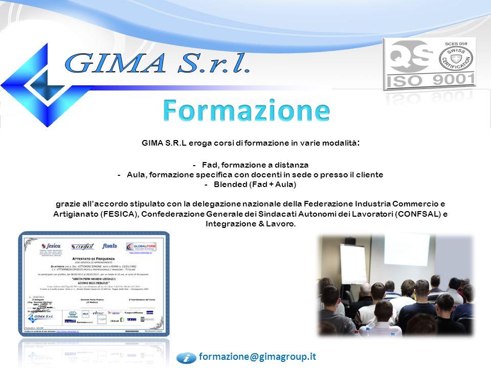 laboratorio@gimagroup.it Stesura manuale HACCP Reg.