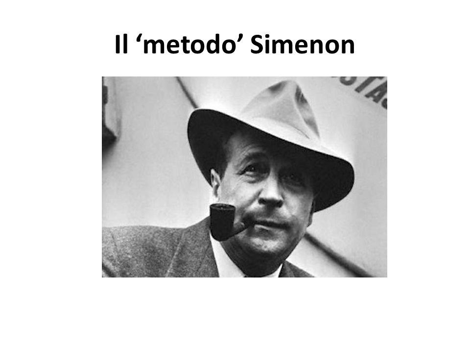 Il metodo Simenon