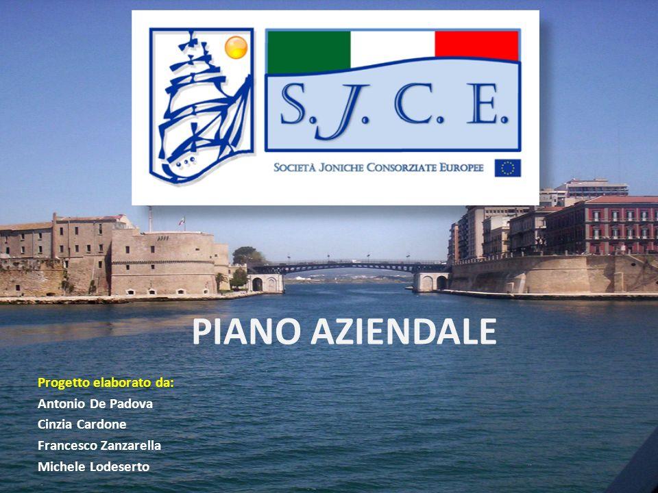PIANO AZIENDALE Progetto elaborato da: Antonio De Padova Cinzia Cardone Francesco Zanzarella Michele Lodeserto