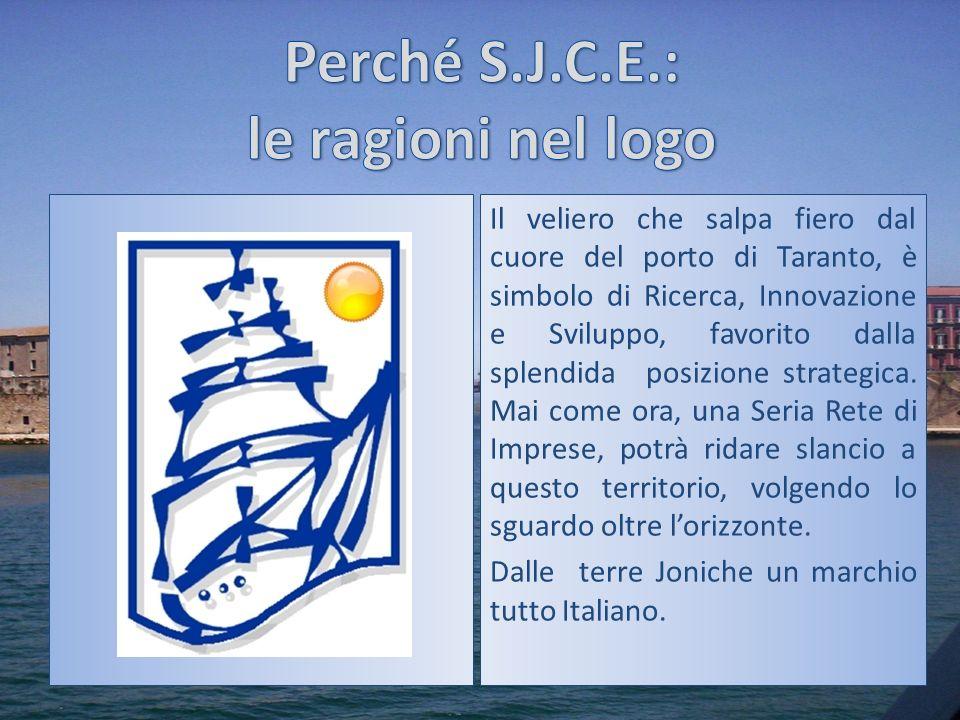 Il veliero che salpa fiero dal cuore del porto di Taranto, è simbolo di Ricerca, Innovazione e Sviluppo, favorito dalla splendida posizione strategica