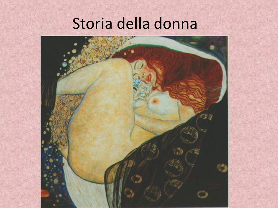 Storia della donna