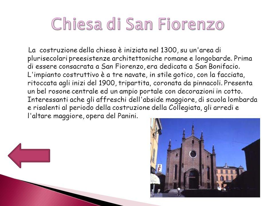 La costruzione della chiesa è iniziata nel 1300, su un'area di plurisecolari preesistenze architettoniche romane e longobarde. Prima di essere consacr