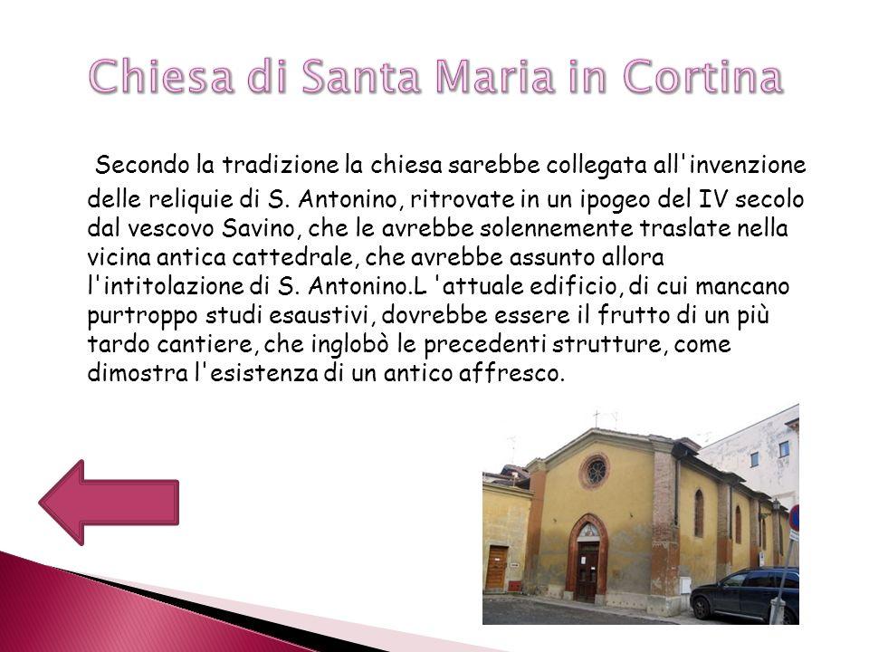 I lavori per il convento di S.
