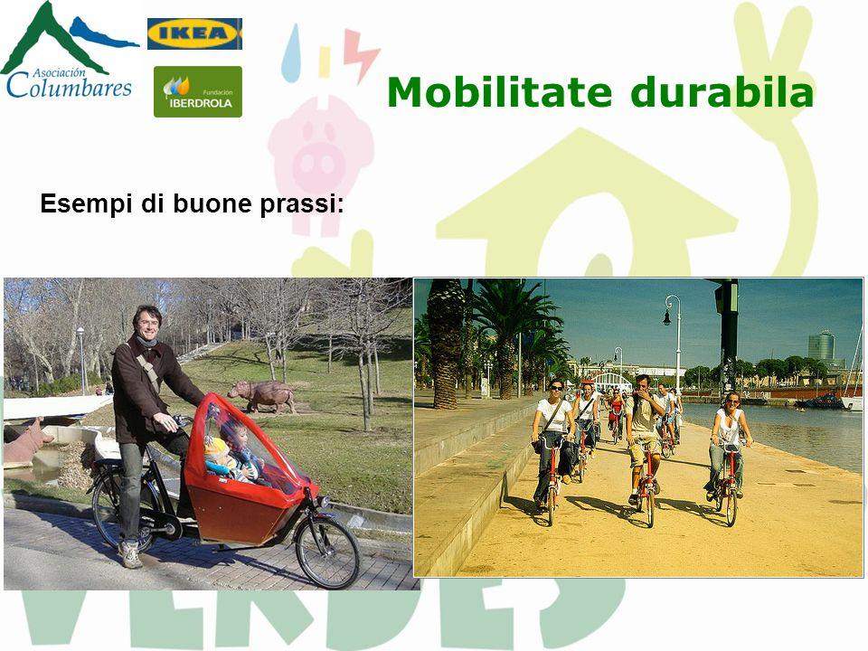 Mobilitate durabila Esempi di buone prassi: