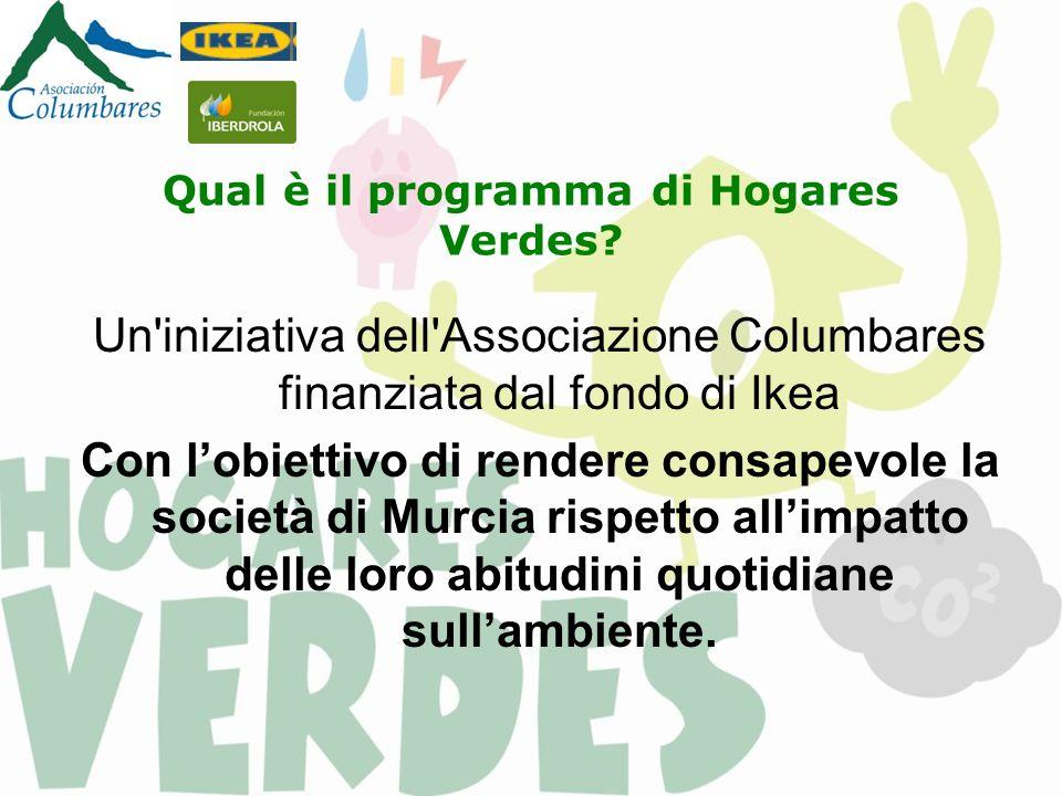Qual è il programma di Hogares Verdes.